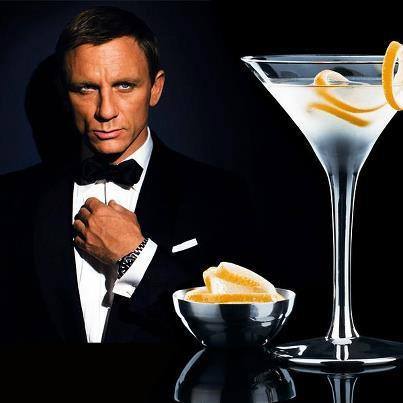 Le cocktail james bond