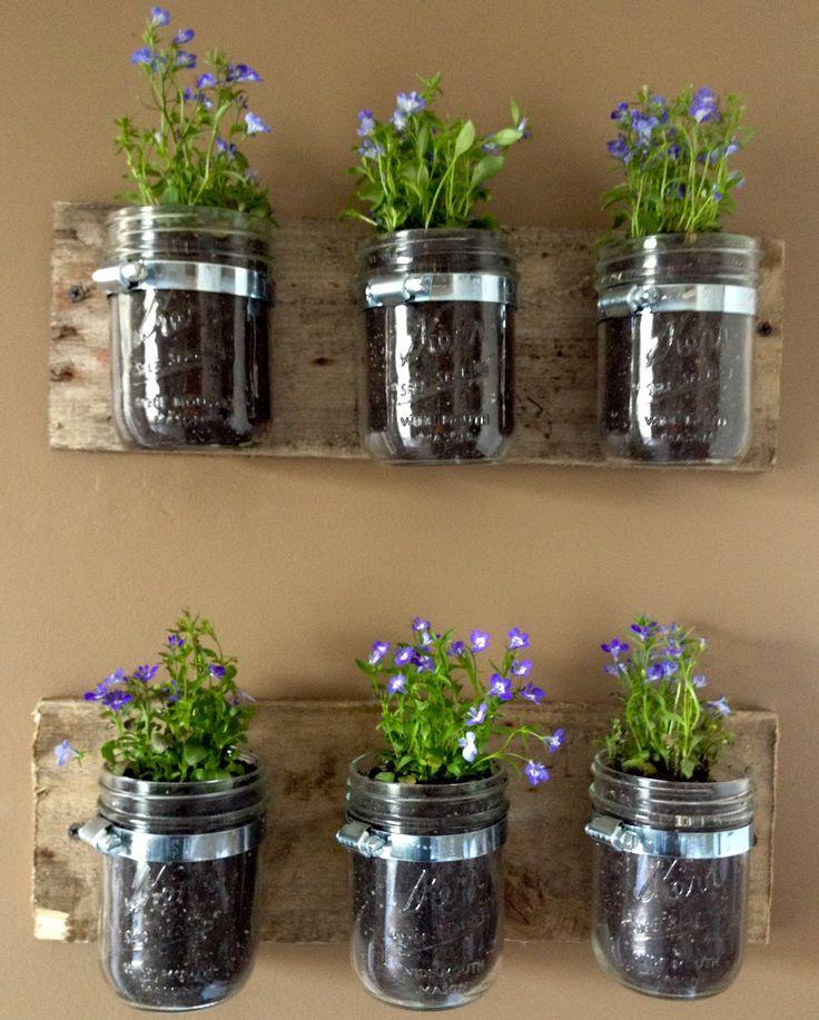 plantes drinks dans pot mason c 39 est l 39 heure de l 39 ap ro. Black Bedroom Furniture Sets. Home Design Ideas